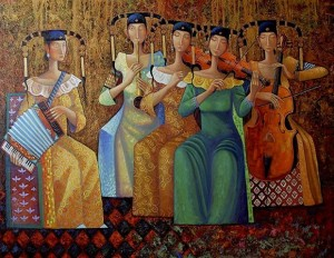 Donne suonatrici