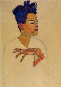 egon-schiele-self-portrait-with-hands-on-chest